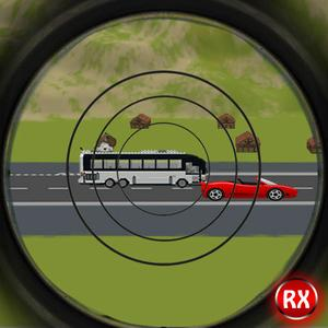 play Sniper Traffic Hunter - Highway Road Shooter