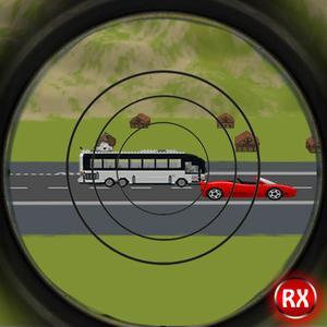 play Sniper Traffic Hunter - Highway Road Shooter