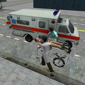 play Ambulance Parking 3D Extended