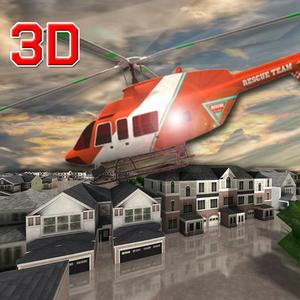 play Ambulance Rescue Helicopter 3D