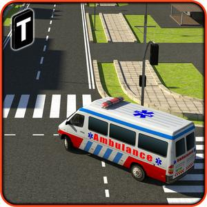 play Ambulance Rescue Simulator 3D - Patients Hospital Delivery Sim