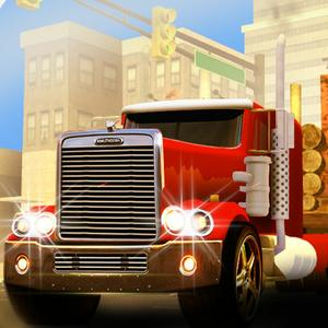 play American Truck Cargo Delivery 3D