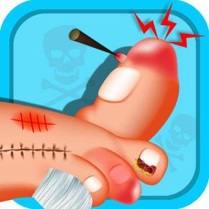 play Monster Nail Doctor - Toe Nail Surgery, Kids Free For Fun