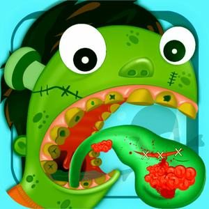 play Monster Tongue Doctor Cleaner, Dentist Fun Pack Game For Kids, Family, Boy And Girls