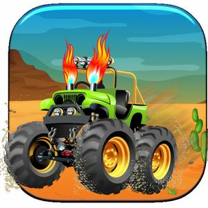 play Monster Truck Driving School - Massive Car Driver Delivery Game
