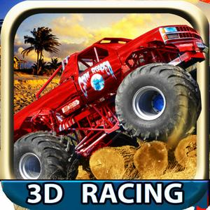 play Monster Truck Madness ( 3D Racing Game )