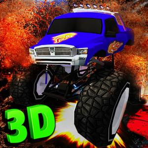 play Monster Truck Stunt Parking 3D - Real 4X4 Total Destruction Road Rage Game