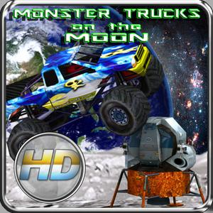 play Monster Trucks On The Moon Hd