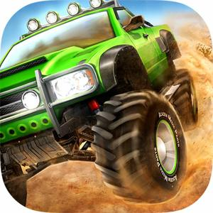 play Monster Wheels 3D - 4X4 Offroad Rally