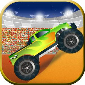 play Monsters Trucks Night Show - The Infernal Coliseum Race Game - Free Edition