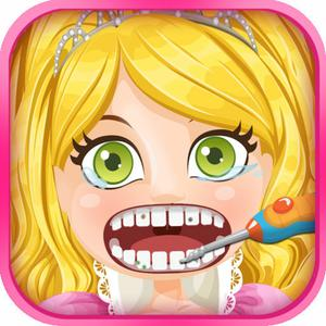 play Princess Dentist - Little Crazy Celebrity Salon Girl Makeover Doctor Office