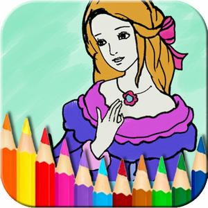 play Princess Fairy Coloring Book - Kids Coloring Doodle Pad