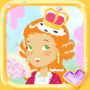 play Princess Fashion Show - Royal Makeover Paper Doll Dressup Game