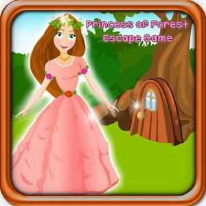 play Princess Of Forest Escape Game