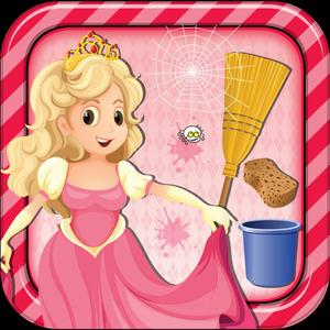 play Princess Room Cleanup - Cleaning & Decoration Game
