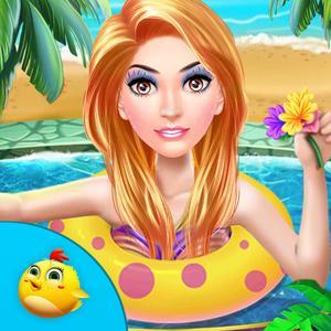play Princess Swimming Pool Celebration