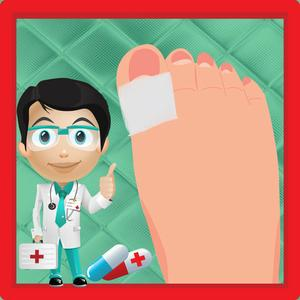 play Princess Toe Surgery - Crazy Doctor Care And Foot Surgeon Game For Kids