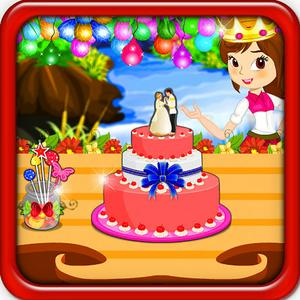 play Princess Wedding Cake Cooking