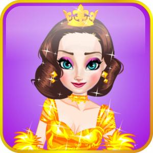 play Snow Queen Royal Dress Up