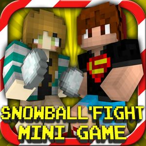 play Snowball Fight : Mini Game With Worldwide Multiplayer