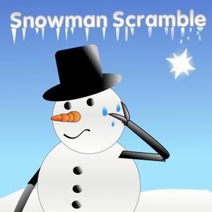 play Snowman Scramble Hd