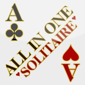 play Solitaire All In One Hd Free - The Classic Card Game Full Deluxe Puzzle Pack ( Tripeaks, Klondike, Freecell, Pyramid, Sp