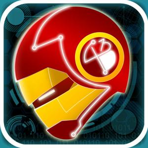 play An Official Neon Rush Hd Pro - 3D Super Hero Run Game