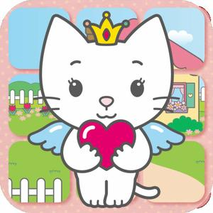 play Angel Cat Sugar - Touch 'N Turn Puzzle