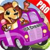 play Animal Ice Cream Truck Racing : Pro