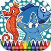 play Coloring Book Sea Animals
