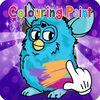 play Coloring Page Furby Kids Edition