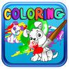 play Coloring Pages Paw Dog Edition