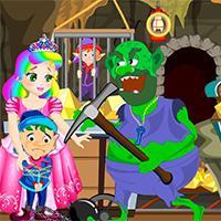 play Princess Juliet Gold Mine Escape