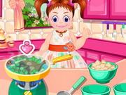 play Baby Emma Cooking Lesson