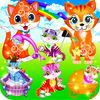 play My Kitty Cat & Fluffy Pet Care - Hello Kitties Life Story Little Kids Girls