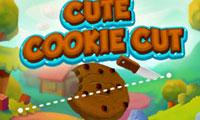 play Cute Cookie Cut