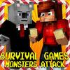 play Survival : Monsters Attack Mc Mini Game
