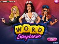 Word Striptease game