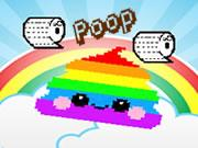 The Rainbow Poop game