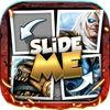 play Slide Me Puzzle Heroes Quiz Picture Video -