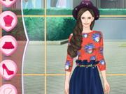 play Helen Fashion Blogger Dress Up