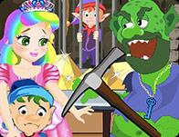 play Princess Juliet Gold Mine Escape