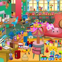 play Girls Messy Room Objects