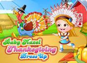 play Baby Hazel Thanksgiving Dressup
