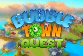 Bubble Town Quest game