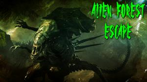 Alien Forest Escape game