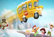 play Winter School Bus Parking