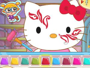 Hello Kitty Face Painting game