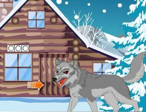play Pinkgirl Escape From Wolf