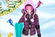 Skiing Fashion Game game